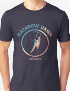 Rainbow Dash Sports Team T-Shirt
