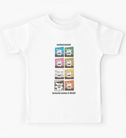 Tentacle Robot T Shirt Kids Tee