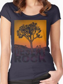 Desert rock Women's Fitted Scoop T-Shirt