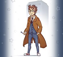 10th Doctor Case by avender