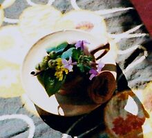 a Japanese table setting by juliaweston