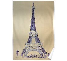 Eiffel Tower Positive Poster