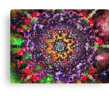 Psychedelic Symmetry Canvas Print