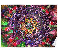 Psychedelic Symmetry Poster