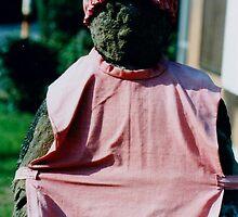 Dressed up baby Buddha by juliaweston