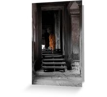 Monks - Angkor Wat 2 Greeting Card
