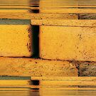 Bricks in Abstract by Winona Sharp