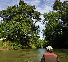 Boat ride by Dwayne Foong