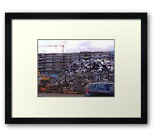 Parking for 4000 Cars Framed Print