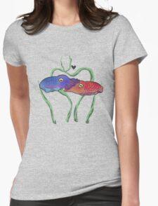 """Cuddlefish"" Womens Fitted T-Shirt"