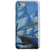 Blue Ship iPhone Case/Skin
