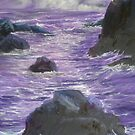 PURPLE SEA by Stan  Brookfield