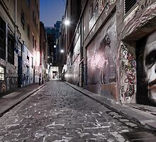 Hosier Lane - The Joker, Melbourne by ajhaysom