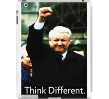 Boris Yeltsin think different iPad Case/Skin