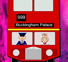 The Royal Coach greetings card by Dennis Melling