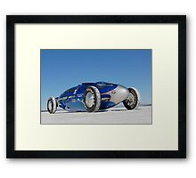 Blue Bellytank 2 Framed Print