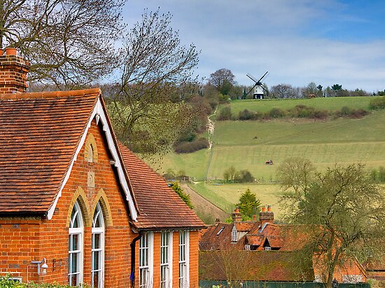 Turville - A Much Used Film Location - 1 by Colin J Williams Photography