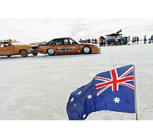 Bronze Aussie Holden Photographic Print
