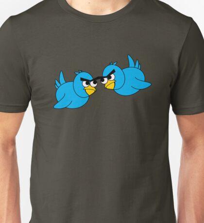 Angry Twitter Birds Unisex T-Shirt
