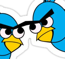 Angry Twitter Birds Sticker