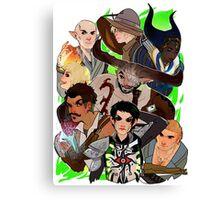 Dragon Age: The Inquisition Canvas Print