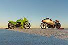 Kawasaki Z1000 and Suzuki GT 750 2 by Frank Kletschkus