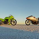 Kawasaki Z1000 and Suzuki GT 750 2 by Frank Kletschkus