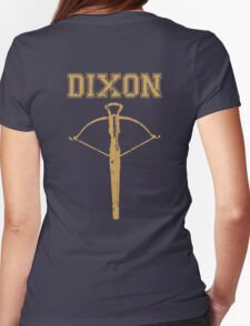 Daryl Dixon Crossbow Womens Fitted T-Shirt