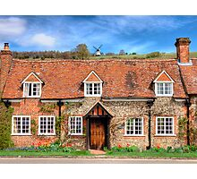 Turville - A Much Used Film Location - 3 Photographic Print