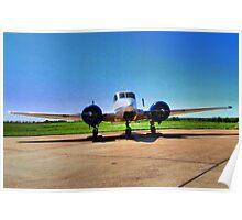 Beechcraft 1956 M18 Poster