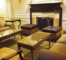 Willard Fireplace by Cyn Piromalli