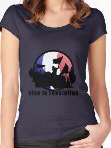 Vive la revolution Women's Fitted Scoop T-Shirt