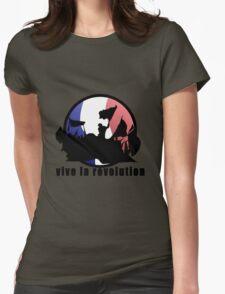 Vive la revolution Womens Fitted T-Shirt