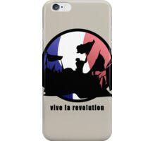 Vive la revolution iPhone Case/Skin