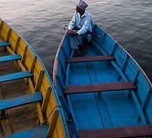 On Phewa Lake by Christopher Cullen