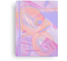 Abstract Pastel Canvas Print