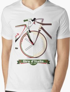 GIRO D'ITALIA Mens V-Neck T-Shirt