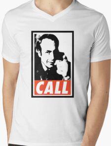 CALL Saul Mens V-Neck T-Shirt