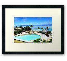 Summer time Framed Print