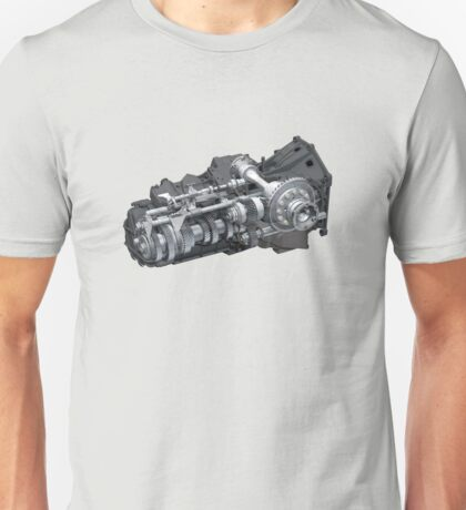 3D ENGINE Unisex T-Shirt