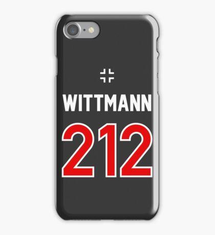 Panzer Aces - Michael Wittmann iPhone Case/Skin