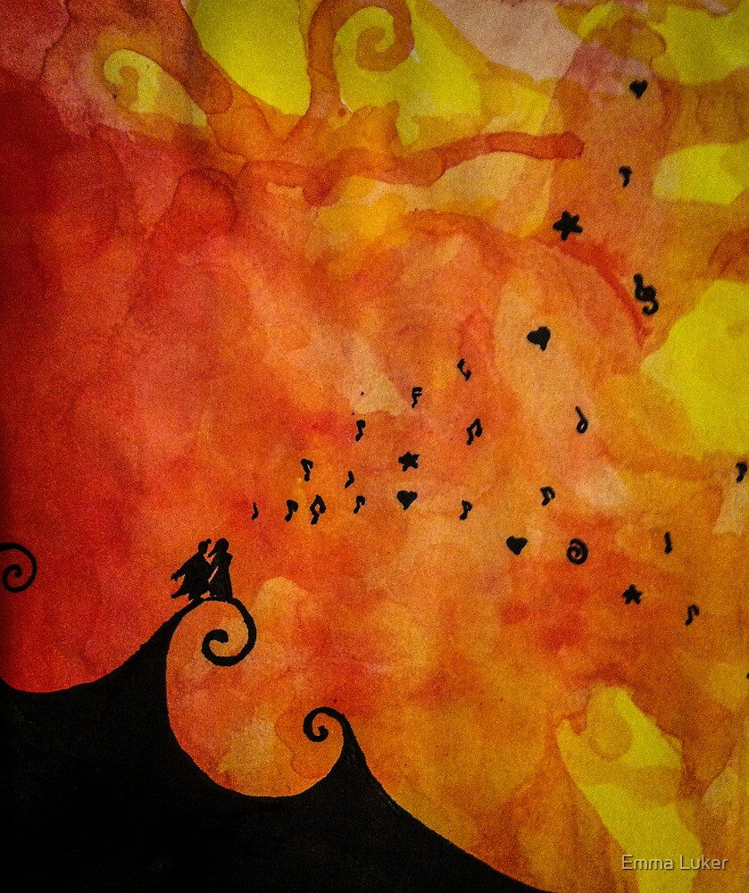 Sunset Music by Emma Luker