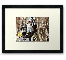 Myrtle Plantation Framed Print