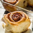 Fresh Homemade Cinammon Sticky Buns by Edward Fielding