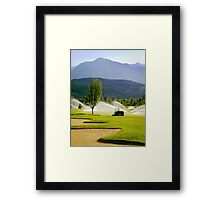 Toro Golf Course Equipment Framed Print