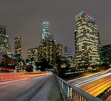 Downtown Los Angeles by Jerome Obille