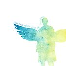 Take these broken wings and learn to fly - Castiel by Charliejoe24