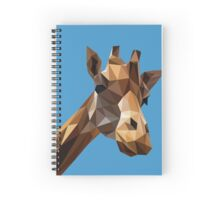 Curious Giraffe Spiral Notebook