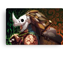 Head Hunter Canvas Print