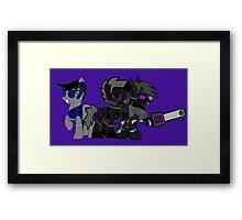Robots Framed Print